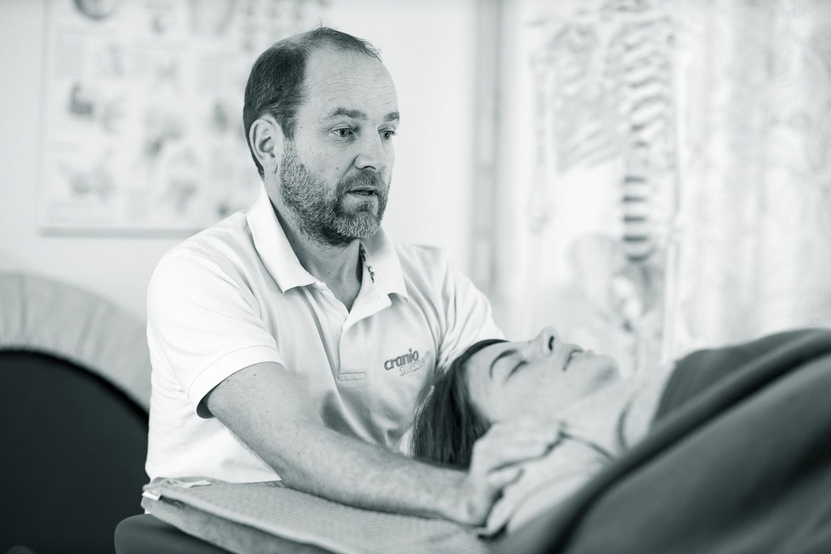 Craniosacral therapy means listening to your body